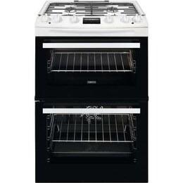 Zanussi ZCK66350WA 60 cm Dual Fuel Cooker - White Reviews