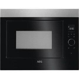 AEG MBE2658SEM Built-in Solo Microwave - Black & Stainless Steel Reviews