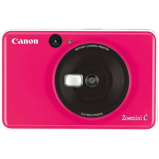Canon Zoemini C Pocket Size 2-in-1 Instant Camera Printer - Bubble Gum Pink