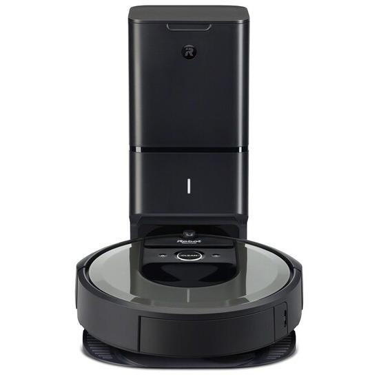 iRobot Roomba I7558+ Robot Vacuum Cleaner - Charcoal