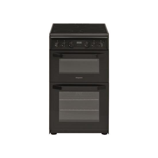 Hotpoint HD5V93CCB 50 cm Electric Ceramic Cooker - Black