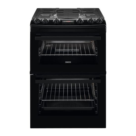 Zanussi ZCG63260BE 55 cm Gas Cooker - Black