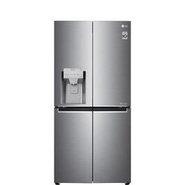 LG GMJ844PZKV Smart Fridge Freezer - Stainless Steel Reviews