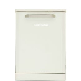 Montpellier MAB600C Full-size Dishwasher - Cream Reviews