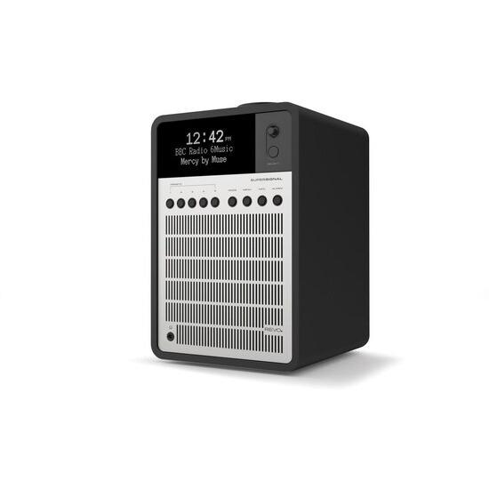 Revo SuperSignal Matt Black & Silver Deluxe Compact Digital Speaker System