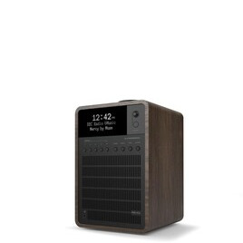 Revo SuperSignal Walnut & Black Deluxe Compact Digital Speaker System