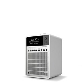 Revo SuperSignal Matt White & Silver Deluxe Compact Digital Speaker System