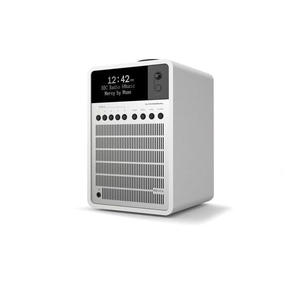 Revo SuperSignal Matt White & Silver Deluxe Compact Digital Speaker System