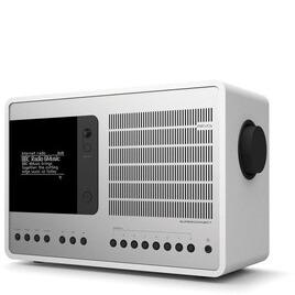 Revo SuperConnect Matt White & Silver Award Winning Digital Speaker System
