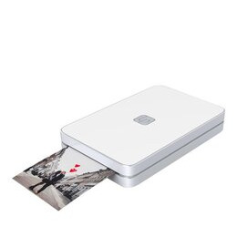 LifePrint Printer 2x3 Hyperphoto for iPhone & Android - White with 10 Sheets