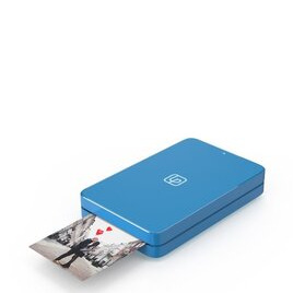 LifePrint Printer 2x3 Hyperphoto for iPhone & Android - Blue with 10 Sheets