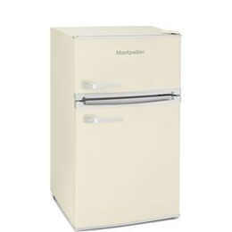 Montpellier MAB2031C Undercounter Fridge Freezer - Cream Reviews