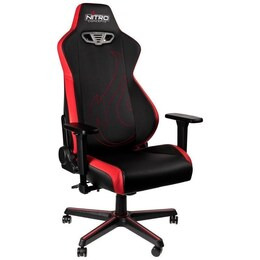 Nitro S300 EX Gaming Chair - Black & Red Reviews