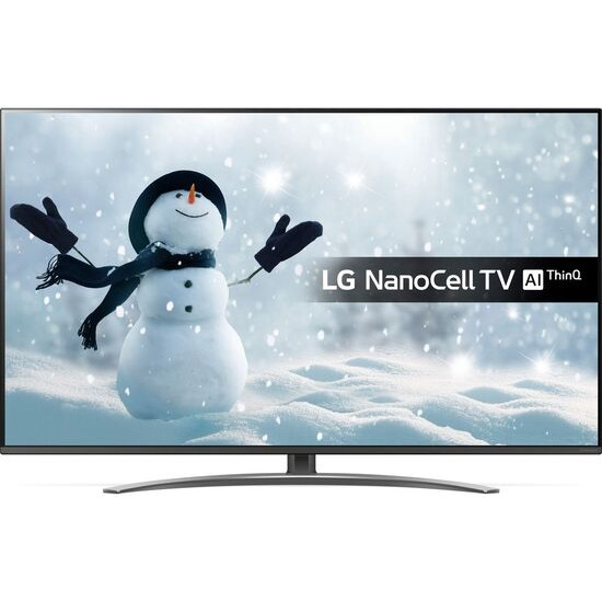 LG 55SM8200PLA 55 Smart 4K Ultra HD HDR LED TV with Google Assistant