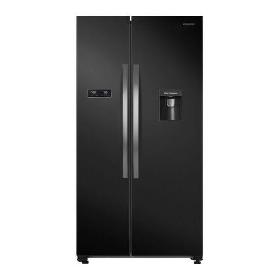 Kenwood KSBSDB19 American-Style Fridge Freezer - Black