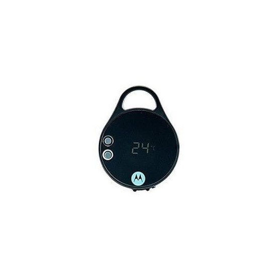 Motorola Pebl Personal Light with Carabiner Clip & Thermometer