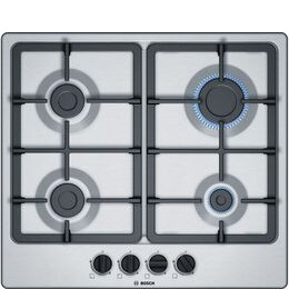Bosch Serie 4 PGP6B5B90 Gas Hob - Stainless Steel Reviews