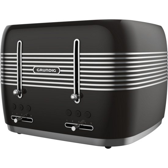 GRUNDIG TA7870R 4-Slice Toaster - Red