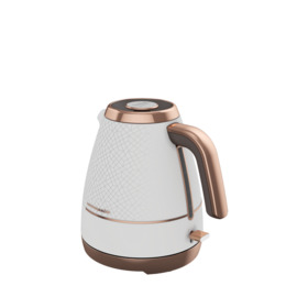 BEKO Cosmopolis WKM8307W Jug Kettle - White & Rose Gold Reviews