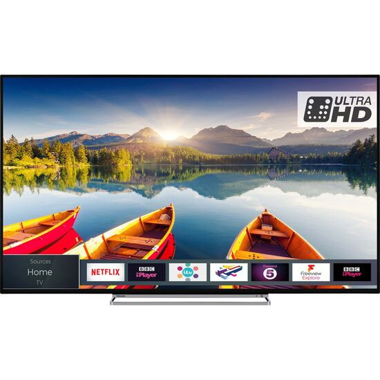 Toshiba 49U6863DB 49 Smart 4K Ultra HD HDR LED TV