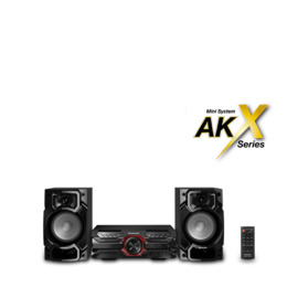 Panasonic SC-AKX320E-K Bluetooth Megasound Party Hi-Fi System - Black Reviews