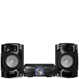 Panasonic SC-AKX520E-K Bluetooth Megasound Party Hi-Fi System - Black Reviews