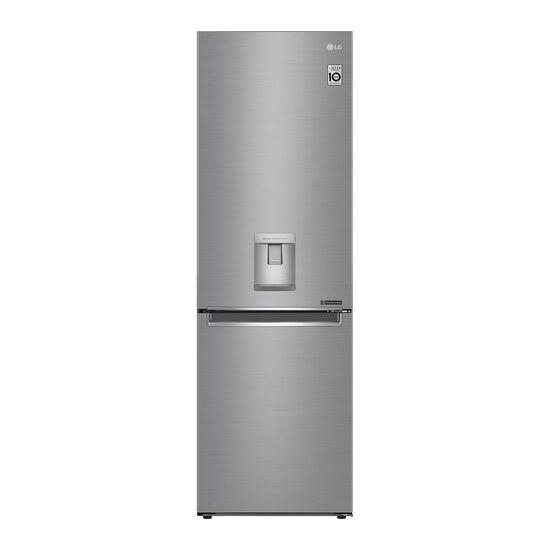 LG GBF61PZJZN 70/30 Fridge Freezer - Steel