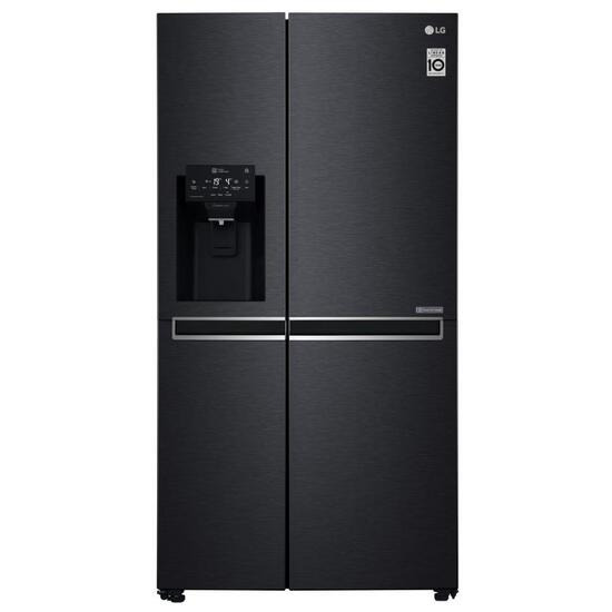 LG GSL760MCXV American-Style Smart Fridge Freezer - Black