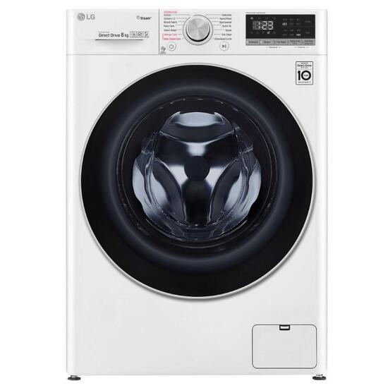 LG AI DD V5 F4V508WS WiFi-enabled 8 kg 1400 Spin Washing Machine - White