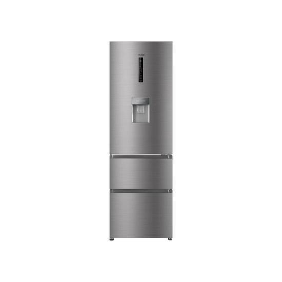 HAIER AFE635CHJW 60/40 Fridge Freezer - Stainless Steel