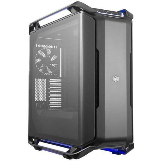 CoolerMaster Cosmos C700P E-ATX Full Tower PC Case - Black