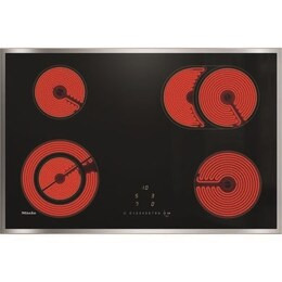 Miele KM6522 Electric Ceramic Hob - Black