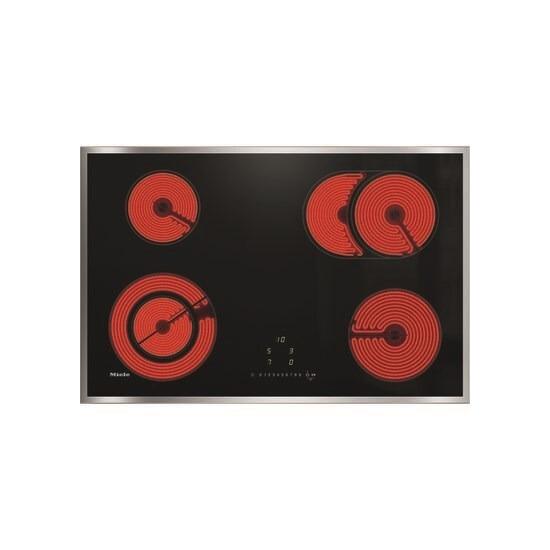 Miele KM6522 Electric Ceramic Hob - Black
