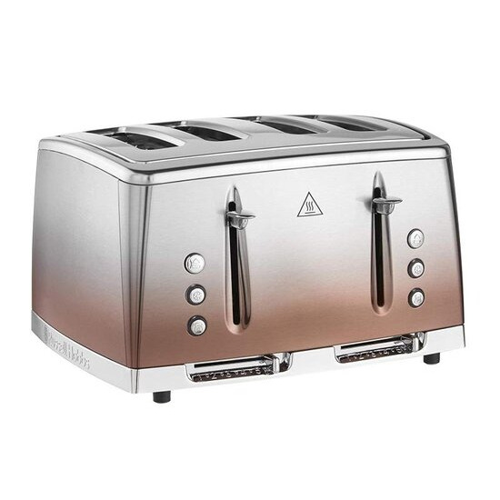 Russell Hobbs Eclipse 25143 4-Slice Toaster - Copper Sunset