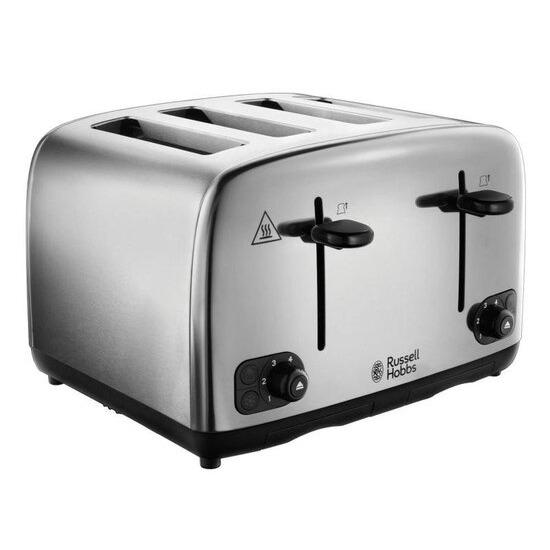 Russell Hobbs Adventure 24090 4-Slice Toaster - Stainless Steel