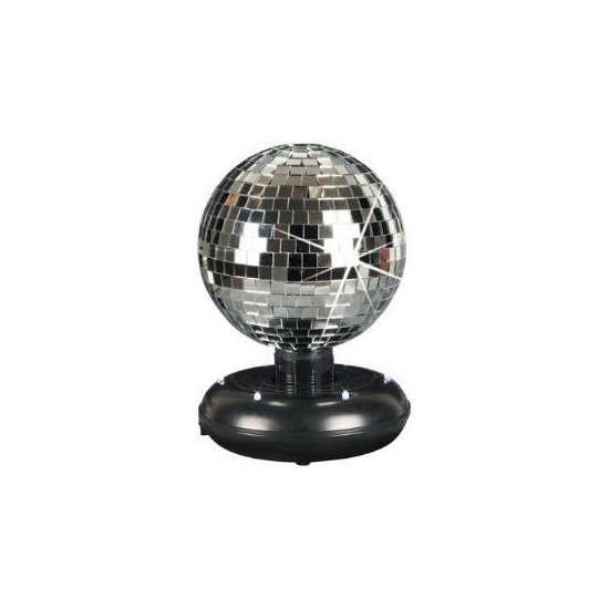 Cheetah Free Standing Rotating Mirror Ball (15cm)