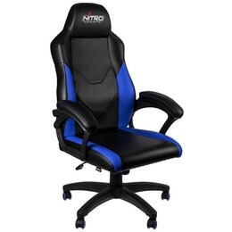 Nitro Concepts C100 Gaming Chair - Black & Blue Reviews