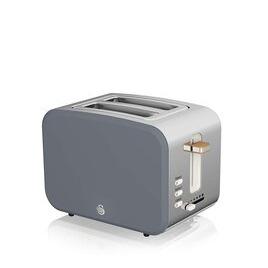 Swan Nordic ST14610GRYN 2-Slice Toaster - Grey Reviews