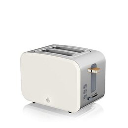 Swan Nordic ST14610WHTN 2-Slice Toaster - White Reviews