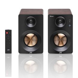 JVC XS-D629BM 2.0 Bluetooth Bookshelf Speakers - Walnut Reviews