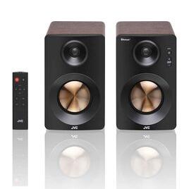 JVC XS-D629BM 2.0 Bluetooth Bookshelf Speakers - Walnut Reviews