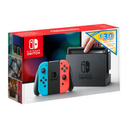 Nintendo Switch Neon with eShop Credit - 30 Reviews