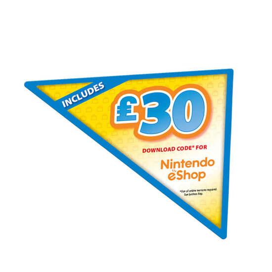 Nintendo Switch Grey with eShop Credit - 30