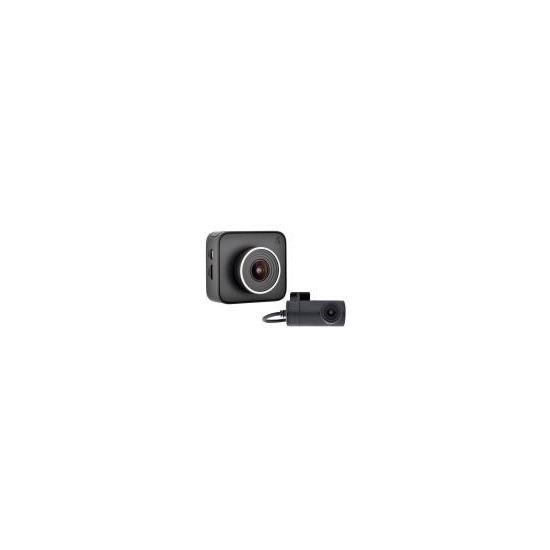 Cobra Dash 2316D (1296p) Dual View Dash Cam with 2.0-inch Display - Black
