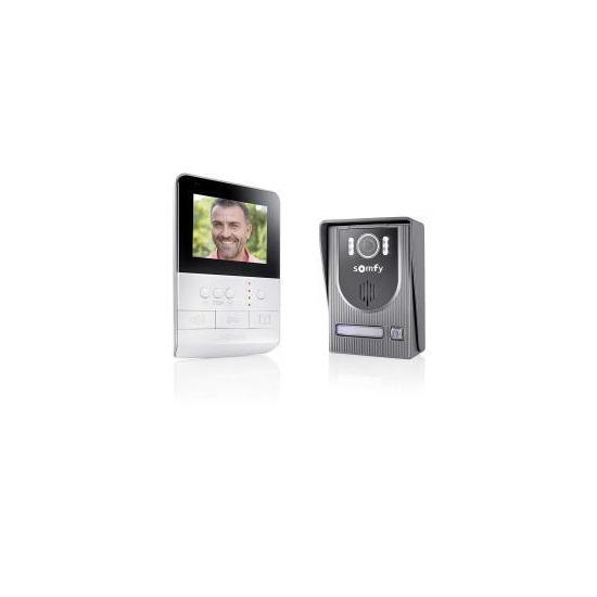 Somfy 2401330 Visiophone V100 - White/Dark Grey
