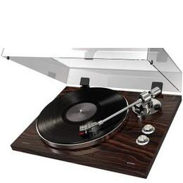 ION Audio PRO500BT Turntable with Bluetooth - Luxurious Walnut Finish