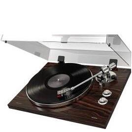 ION Audio PRO500BT Turntable with Bluetooth - Luxurious Walnut Finish
