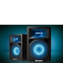 Numark N-Wave 580L - Compact 40-Watt Full Range Desktop DJ Monitors