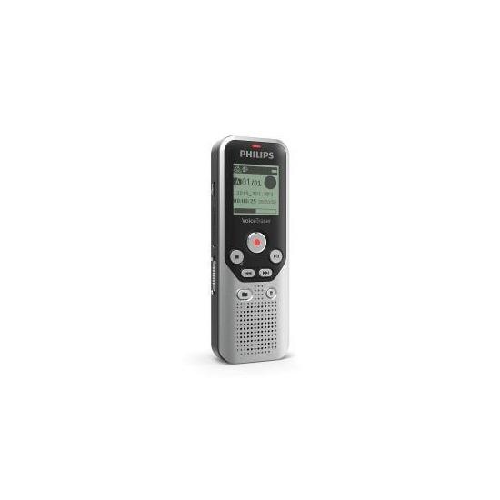 Philips DVT1250 8GB Digital VoiceTracer Audio Recorder Dark-Silver/Black