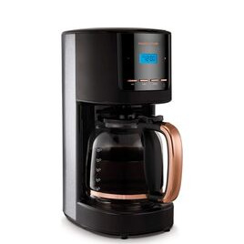 MORPHY RICHARDS Rose Gold Collection 162030 Filter Coffee Machine - Black & Rose Gold Reviews